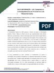 Folder Curso Lei de Acesso à Informação