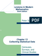 Chapter 13 Collecting Statistical Data