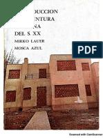 Introducciónalapintura peruana del s.xx_Las fronteras interiores_Mirko Lauer