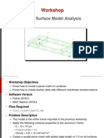 Frame Surface Model Analysis