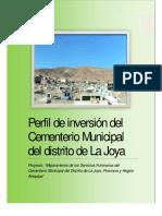 PIP Servicios Cementreio Municipal