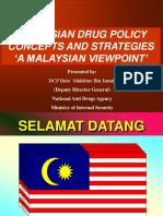 Drug Policy Malaysia