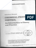 Solution Manual_ Chemical Process Control by Stephanopoulos