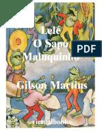 Lelé, o Sapo Maluquinho - Gilson Martins (VB 00848)