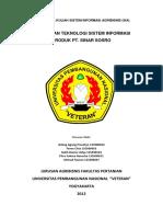 Penerapan Sistem Informasi PT Sinar Sosr