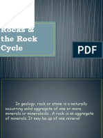 Rocks and Rock Cycle