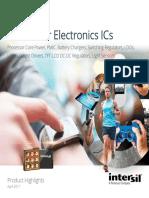 Consumer Electronics ICs 2017-04
