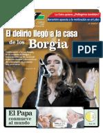 Cristina Kirchner la lucresia Borgia
