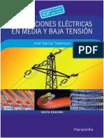 Instalaciones Electricas en Baja y Media Tensión_6ED-Jose Garcia Trasancos