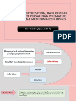 Powerpoint IVF - Kehamilan Multipel - Preterm