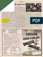 A legmagyarabb művszet - Népszabadság, 1996. március  30.