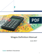 2017 Wages Definition Manual