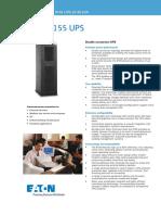 Eaton 9155-20-30kVA Datasheet 2015 LR