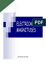 Electrical Magnitudes