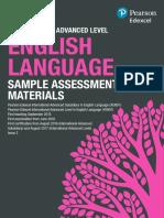 Int Advanced Level English Language SAMs Iss2