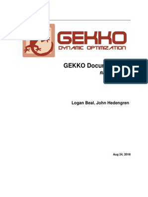 Gekko tutorial | Mathematical Optimization | Linear Programming