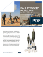 BALL POWDER Propellants 60-81-120mm