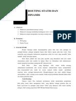 Modul Praktikum 5 Routing Statis Dan Dinamis