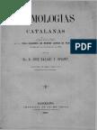 Etimologías Catalanas