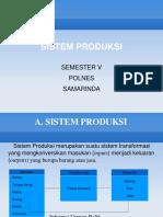 Sistem Produksi Bab 1