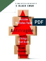 219053532 Antifragile by Nassim Taleb