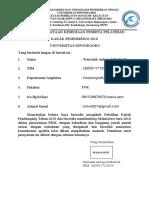 Surat Pernyataan Oseanografi