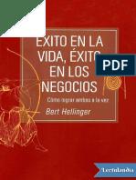 Exito en la vida exito en los negocios - Bert Hellinger.pdf