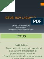 Clase ictus acv