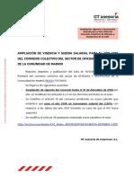 Convecio laboral oficinas y despachos 2018