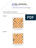 Chess Tactics - The Fork - Exercises.pdf