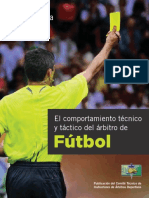El Comportamiento Técnico y Táctico Del Árbitro de Fútbol