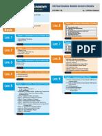 00 Lecturewise Schedule