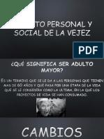 Aspectos Personales y Sociales de La Vejez