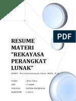 Resume Materi Rpl Alfian