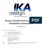 TR505 ROM Expansion