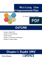 Writing the School Improvement Plan