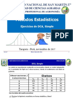 DCA Simple Agronomía