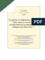"""""""La guerre en Afghanistan et en Irak"""
