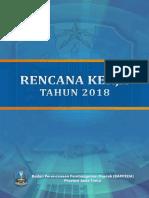 Renja Bappeda Jatim 2018