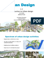 Introduction to Urban Design