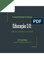 Apresentação Educação 3.0