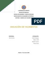 Simulacion de Yacimientos - Grupo #6