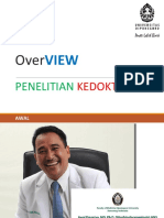 Overview Penelitian Di Bidang Kedokteran