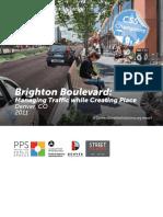 Context Sensitive Solutions - Brighton Boulevard
