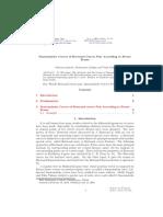 Smarandache Curves of Bertrand Curves Pair According to Frenet Frame