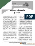 Mujeres, Violencia y Salud