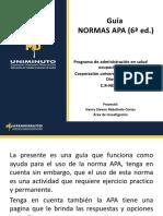 Normas APA 6 Ed. Presentacion Institucional (2)