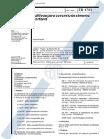 EB-1763 (1992) - Aditivos para concreto de cimento Portland -.pdf