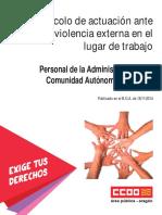 Doc238744 Protocolo de Violencia Externa en Los Centros de Trabajo CCOO