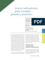 Reanimacion Cardiopulmonar Pediatrica Conceptos General